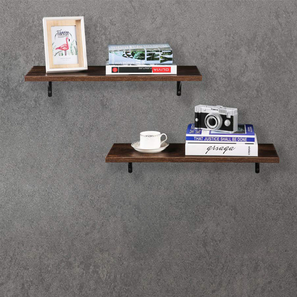 Floating Shelves 24 Inch Pine Rustic Wall Mounted 8 Deep